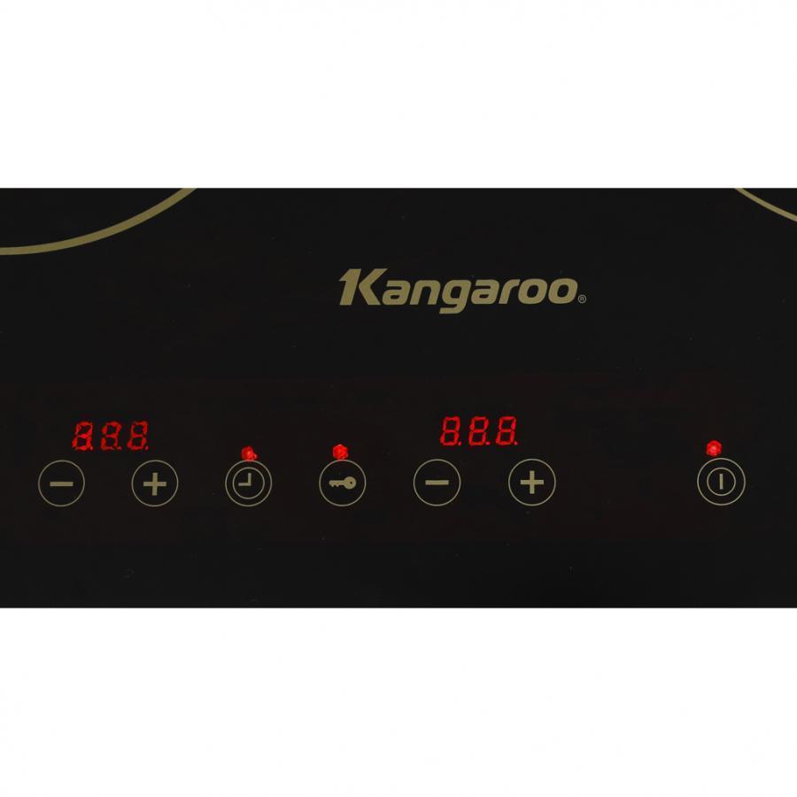 Bếp Điện Từ - Hồng Ngoại Đôi Kangaroo KG499N 3100W - Hàng chính hãng