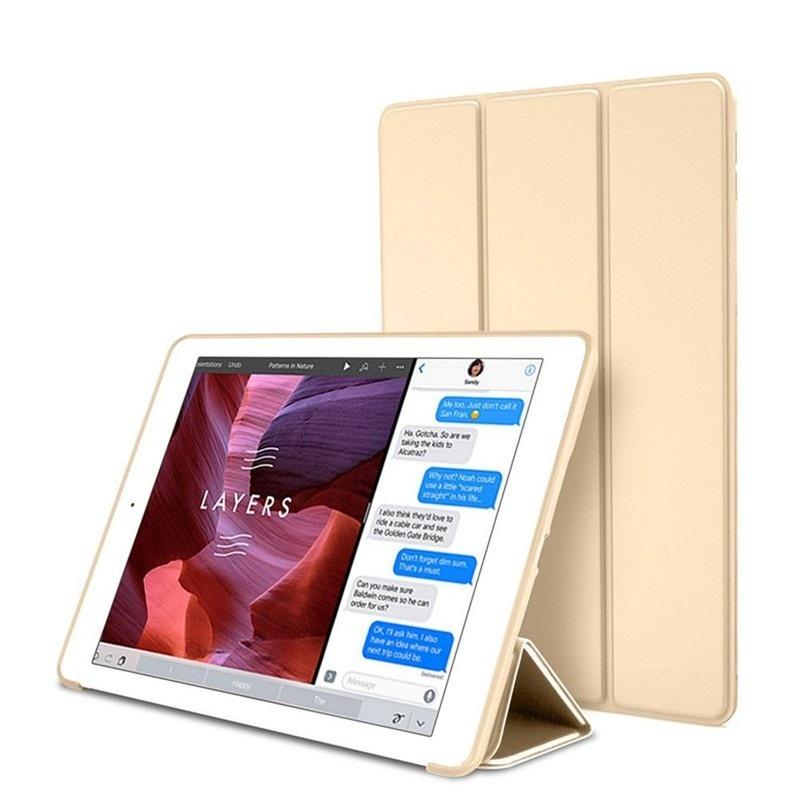 Bao da silicone dẻo cao cấp dành cho các dòng ipad 9.7 inch - GOLD - IPAD PRO 9.7