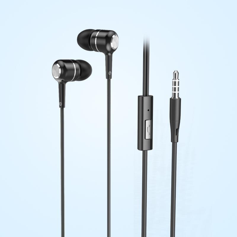 Tai nghe nhét tai Super bass BYZ SE519A có nút đệm silicon cho chất lượng âm thanh trung thực - Hàng chính hãng