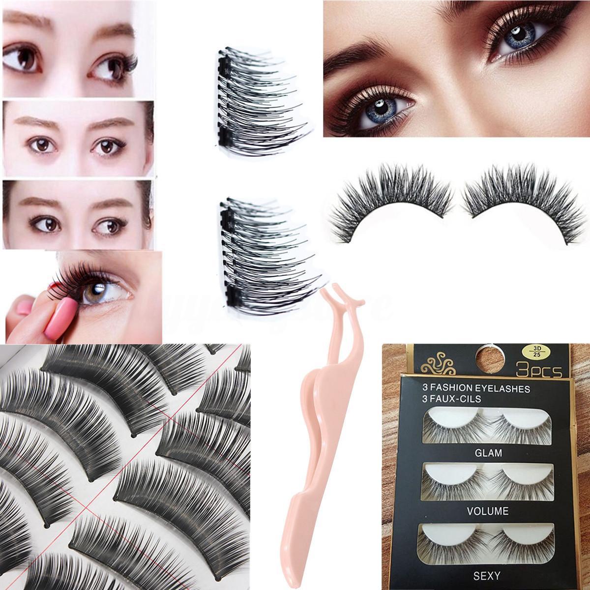Mi giả lông chồn 3D cho ánh nhìn quyến rũ thu hút Fashion Eyelashes (3 Đôi)
