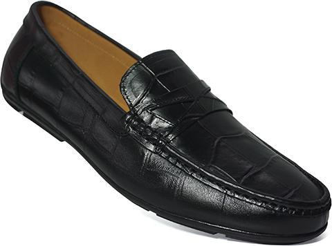 Giày Lười Nam Công Sở Happyshoes Da Bò Thật - HS43