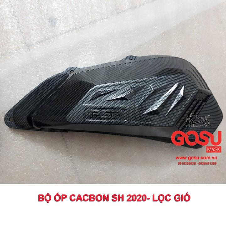 Bộ ốp cacbon sh2020 - sh2021 ( 5 chi tiết)