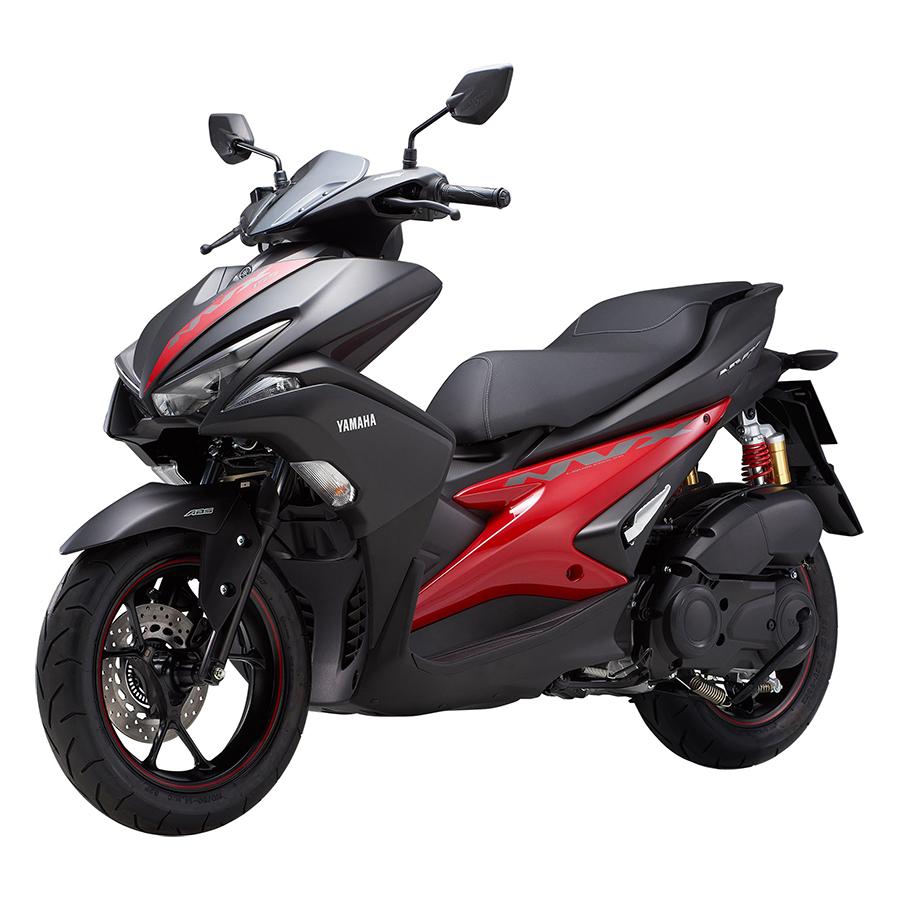 Xe Máy Yamaha NVX 155 Premium Phuộc Dầu - Đen Nhám Đỏ