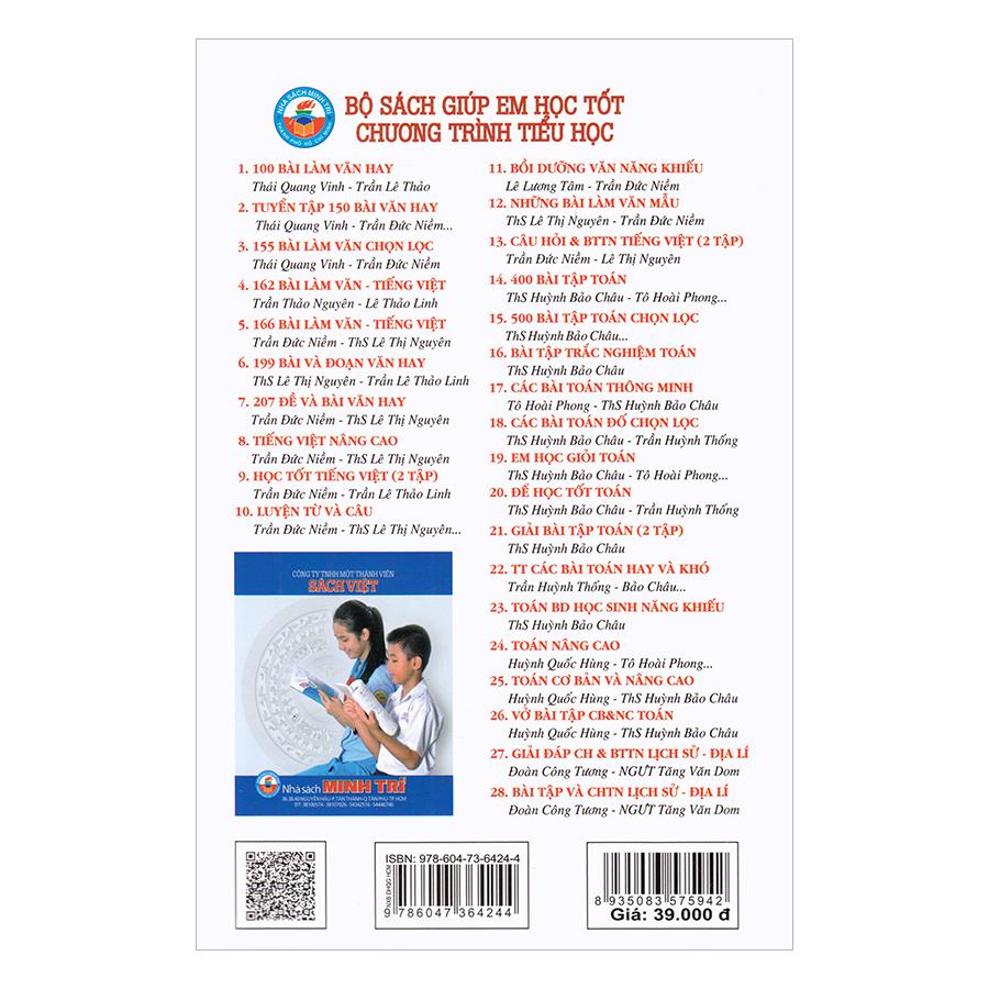 Giải Bài Tập Tiếng Việt Lớp 3 (Tập 2)