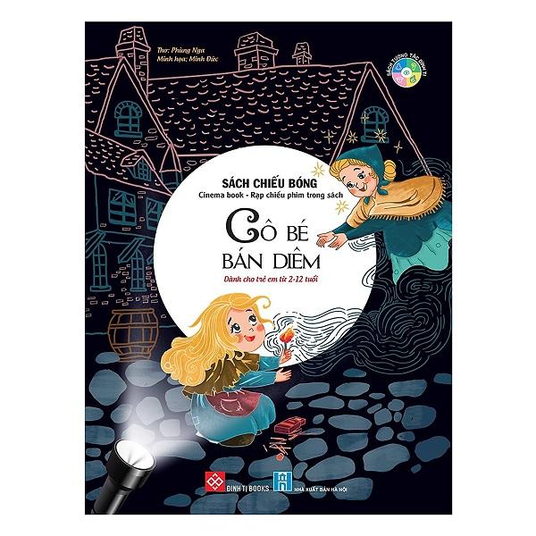 Cuốn sách mang lại những thước phim sống động cho bé: Sách Chiếu Bóng - Cinema Book - Rạp Chiếu Phim Trong Sách - Cô Bé Bán Diêm