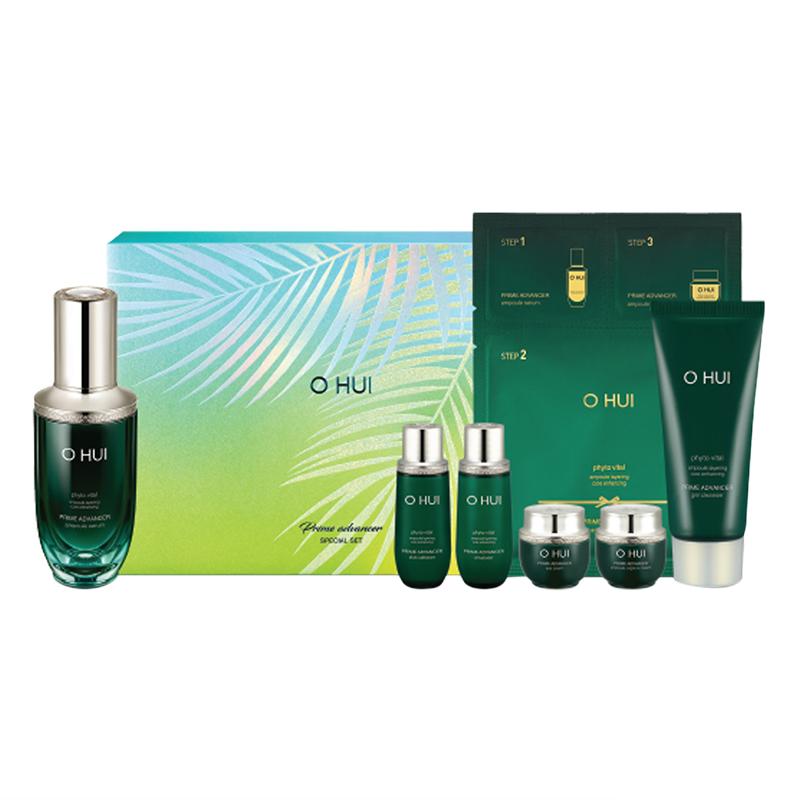 Bộ Tinh Chất Ngăn Ngừa Lão Hóa Toàn Diện Ohui Prime Advancer Ampoule Serum Special Set 7Pcs 219ml