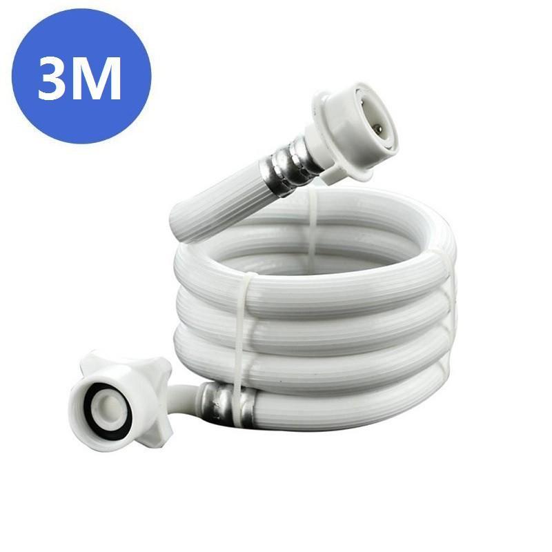 【Có hàng sẵn】2/3/5M Dây cấp nước máy giặt Ống cấp nước máy giặt cao cấp đầu inox mới 100%