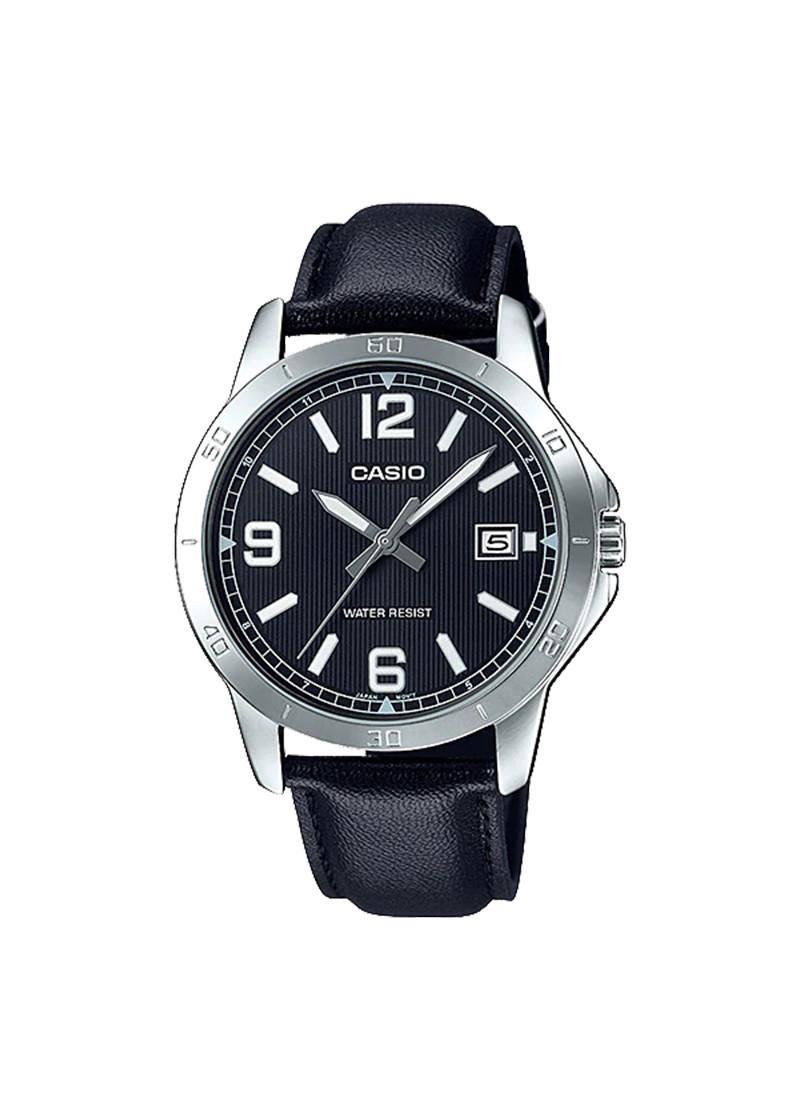 Đồng hồ nam dây da Casio MTP-V004L-1BUDF
