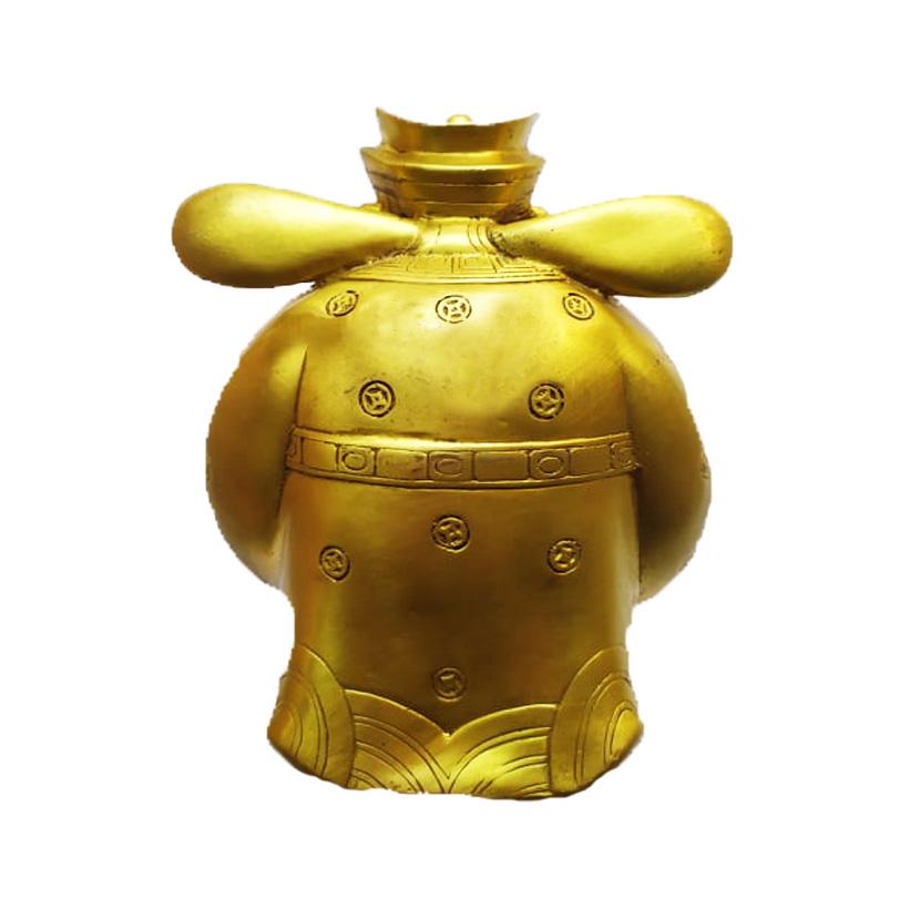 Tượng thần tài tài bạch minh quân bằng đồng thau phong thủy Hồng Thắng