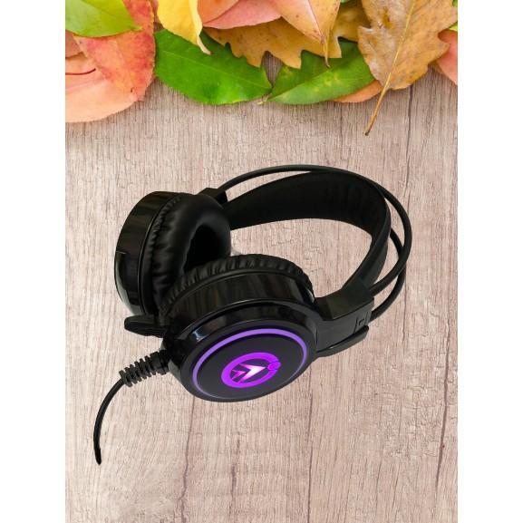 Tai nghe chụp tai chuyên game M10 đèn LED, Cổng usb âm thanh 7.1