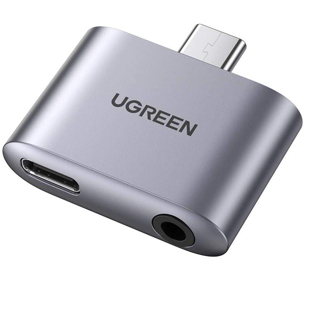 Usb type c sang 3.5mm 110dB Bộ chuyển đổi có chipset PD 30W vỏ nhôm Ugreen 70311 CM231 Hàng chính hãng