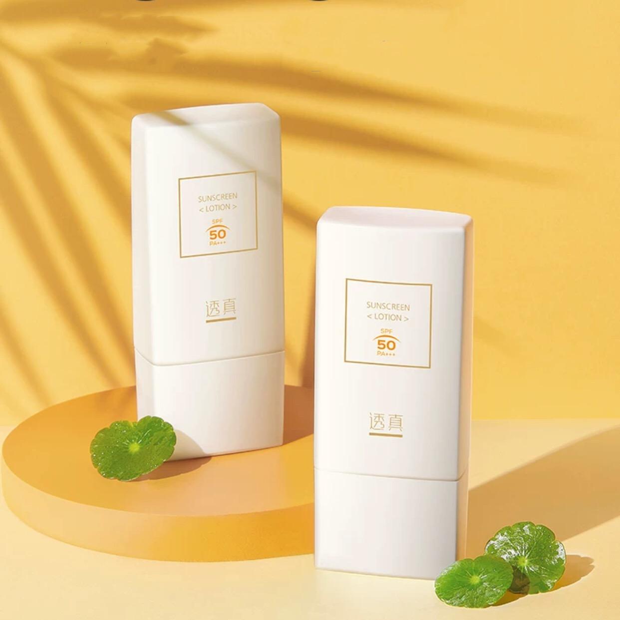 Kem chống nắng LUCENBASE vật lí kiêm hóa học Sunscreen SPF50 PA+++