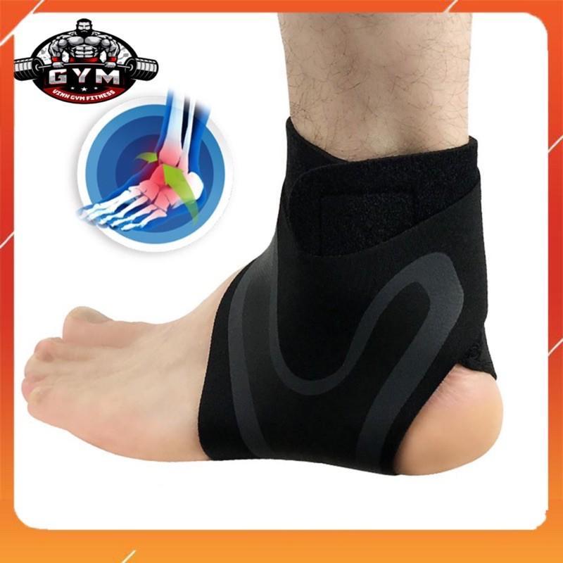 Băng Cổ Chân, Đai Quấn Bảo Vệ Mắt Cá, Bó Gót,Tập Gym Thể Thao Đá Bóng Cầu Lông giữ chặt cổ chân chống chấn thương BCC 12