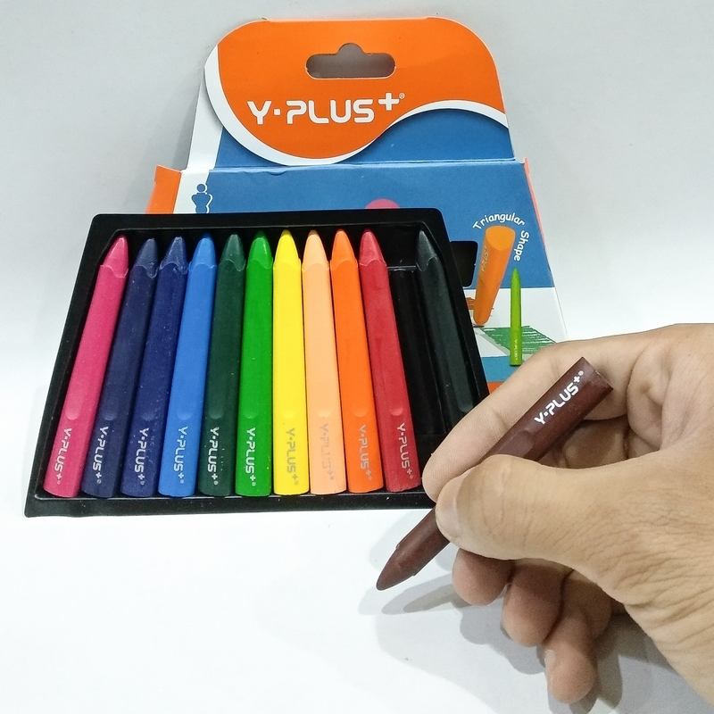 Bút Sáp Halma 12 Màu - Y Plus+ - CR150300