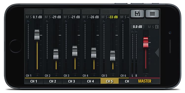 Bộ Trộn Âm Thanh Soundcraft UI16 Digital - Hàng Chính Hãng