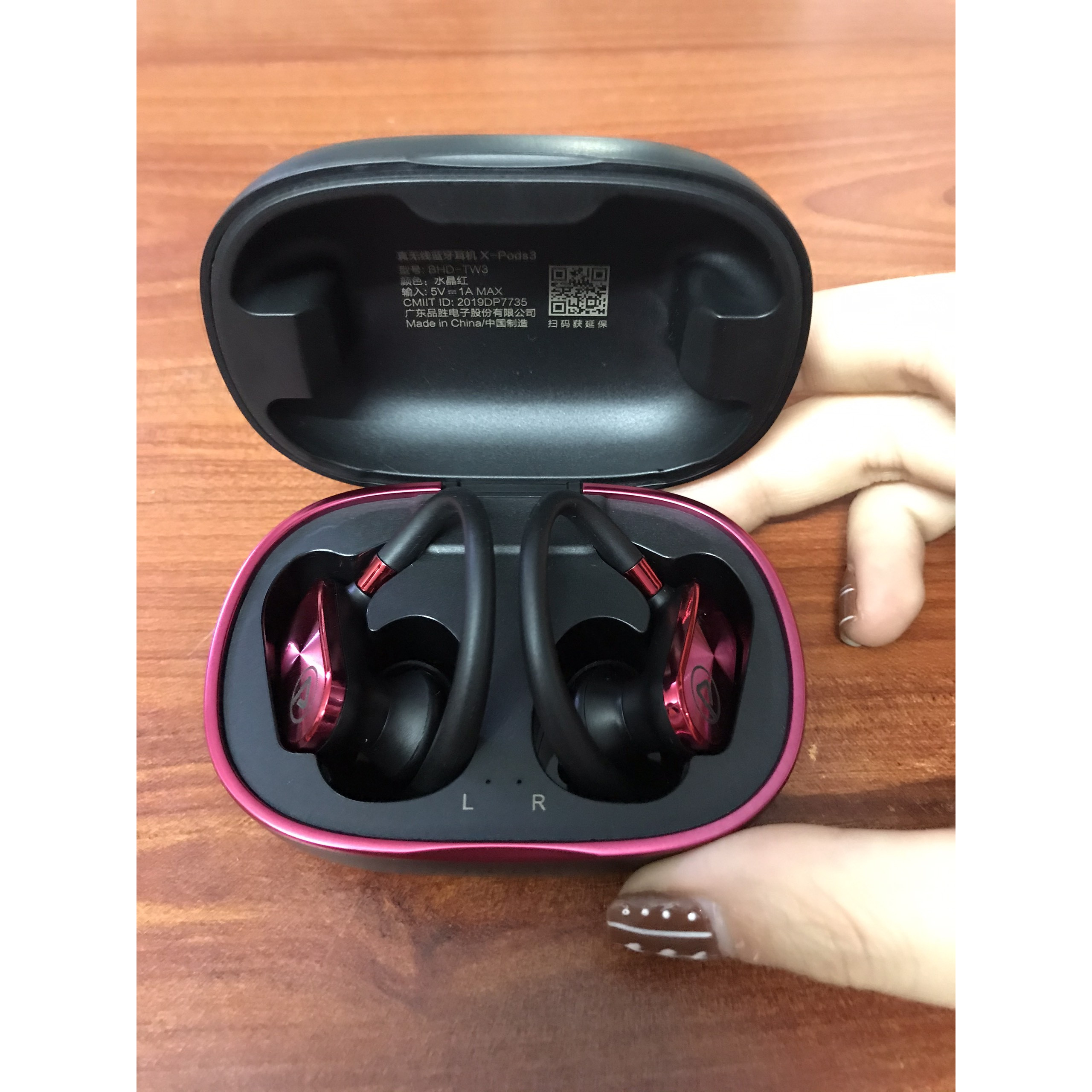 Tai nghe không dây Pisen True Wireless X-Pods 3_ Hàng chính hãng