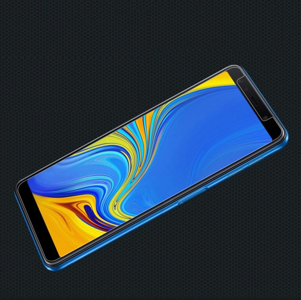 Tấm dán kính cường lực độ cứng 9H dành cho Samsung  A7 2018 - KCL01