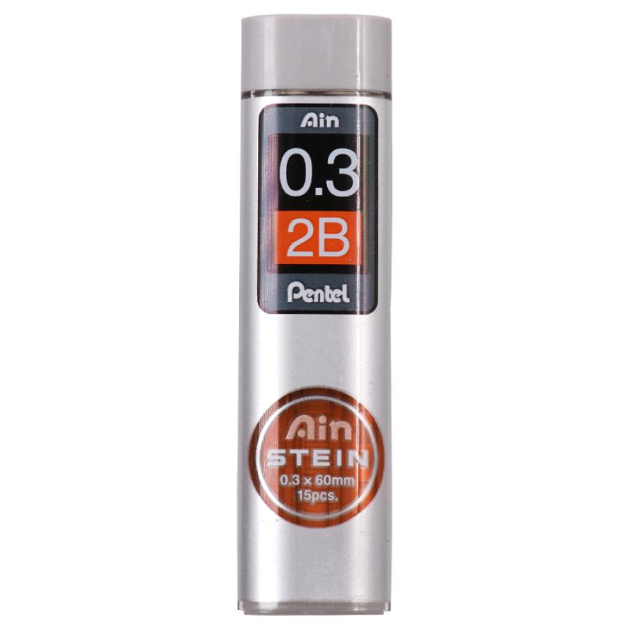 Japan Pentel 2B Automatic Pencil Core Student Exam Special Activity Lead 0.3mm2 Tube C273