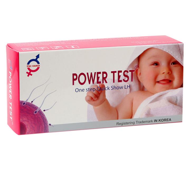 Que thử rụng trứng Powertest Hộp 5 test | Tiki