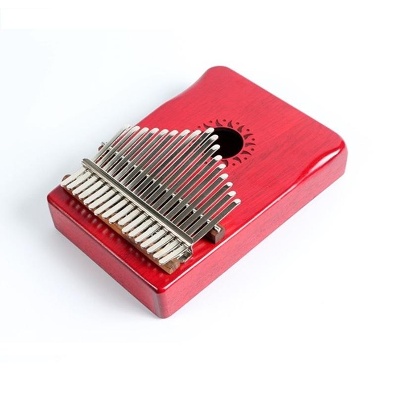 Đàn Thumb Piano Walter 17 phím Gỗ Mahogany đỏ cao cấp, Kalimba 17 keys