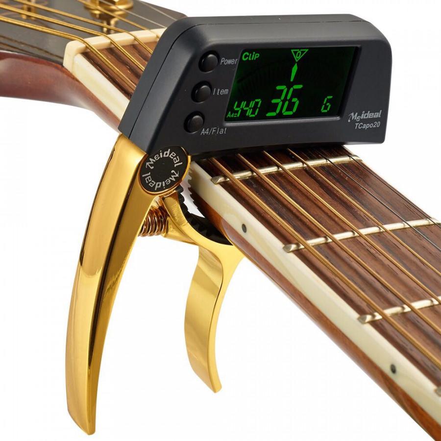 Capo Cho Đàn Guitar Kết Hợp Chỉnh Dây Cao Cấp AZONE