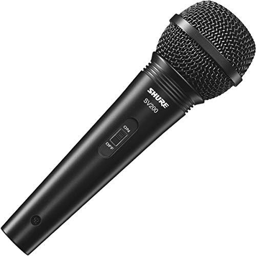 Micro Shure SV200-Q-X - Hàng chính hãng, chất lượng cao cấp giá tốt dùng cho karaoke & thu âm