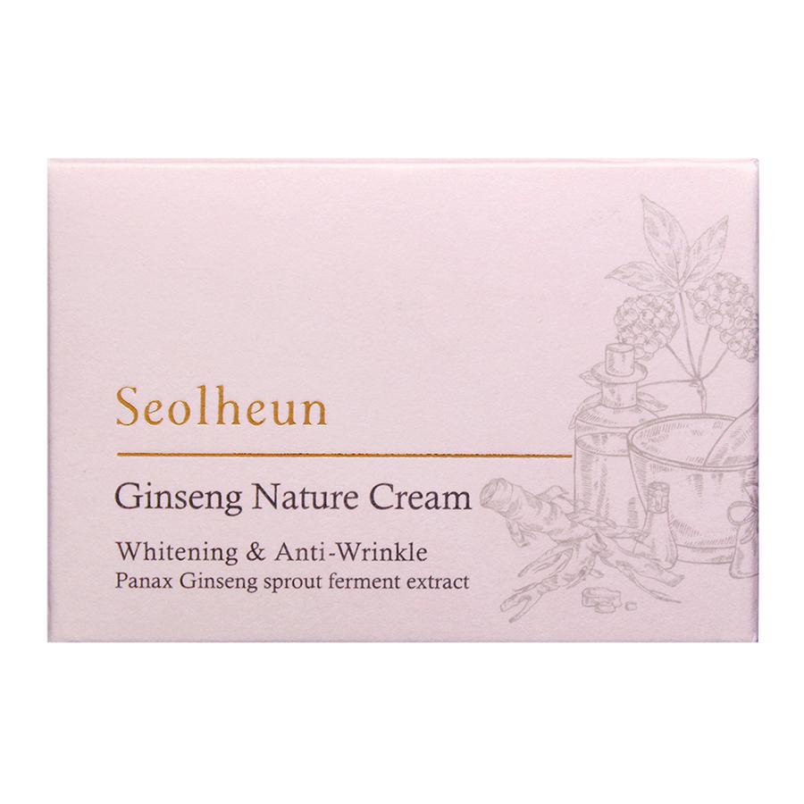 Kem Dưỡng Da Nhân Sâm Seolheun Ginseng Nature Cream (hộp 50 ml)
