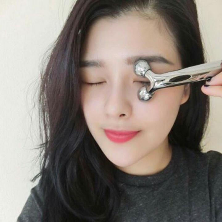 Cây Lăn Massage Mặt 3D Hàn Quốc (Loại Nhỏ)