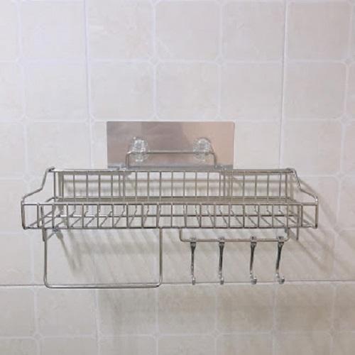 Kệ đựng đồ nhà bếp inox dán tường Gs-5020
