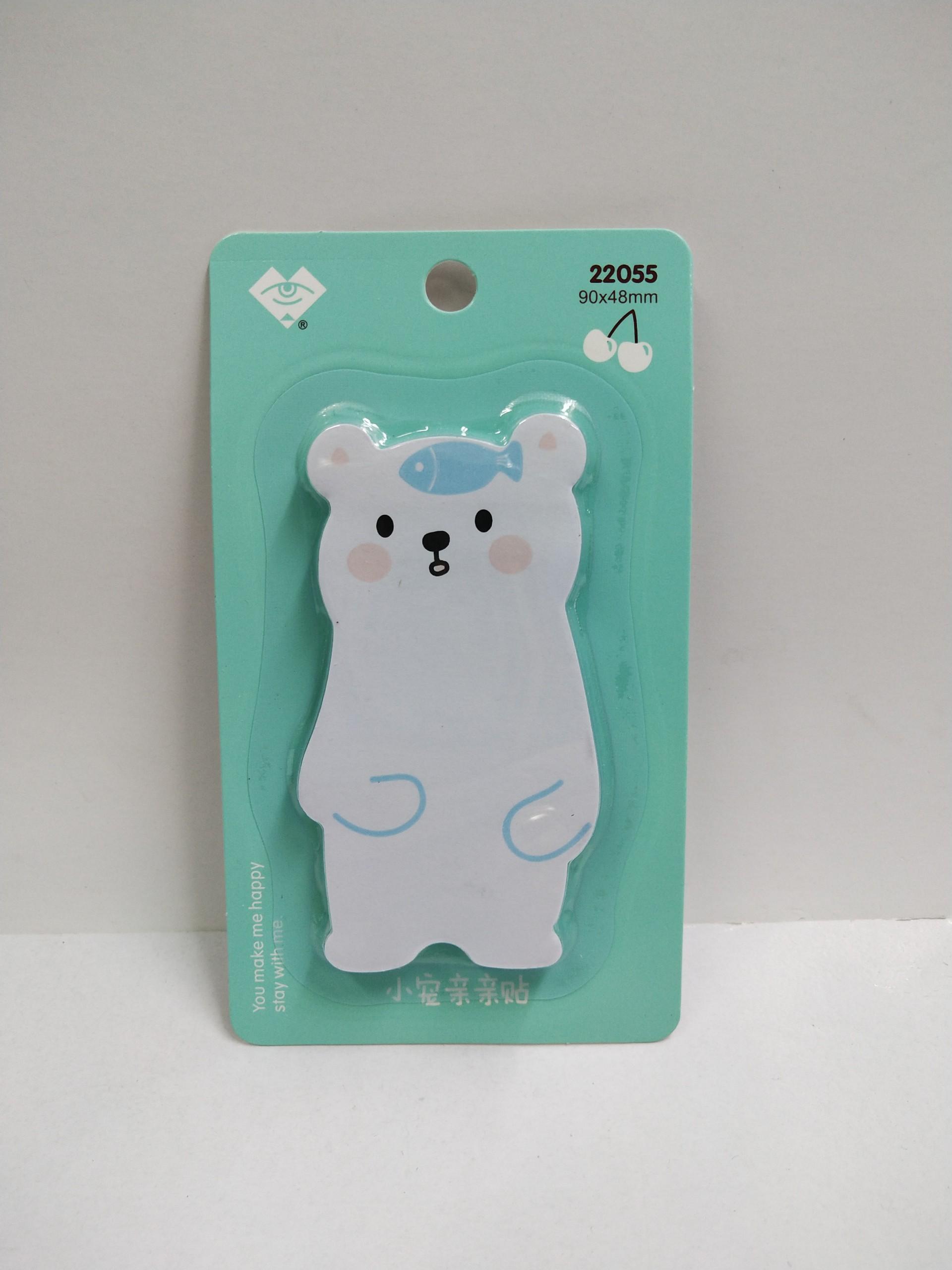 Giấy Note Con Gấu ( Màu Ngẫu Nhiên )