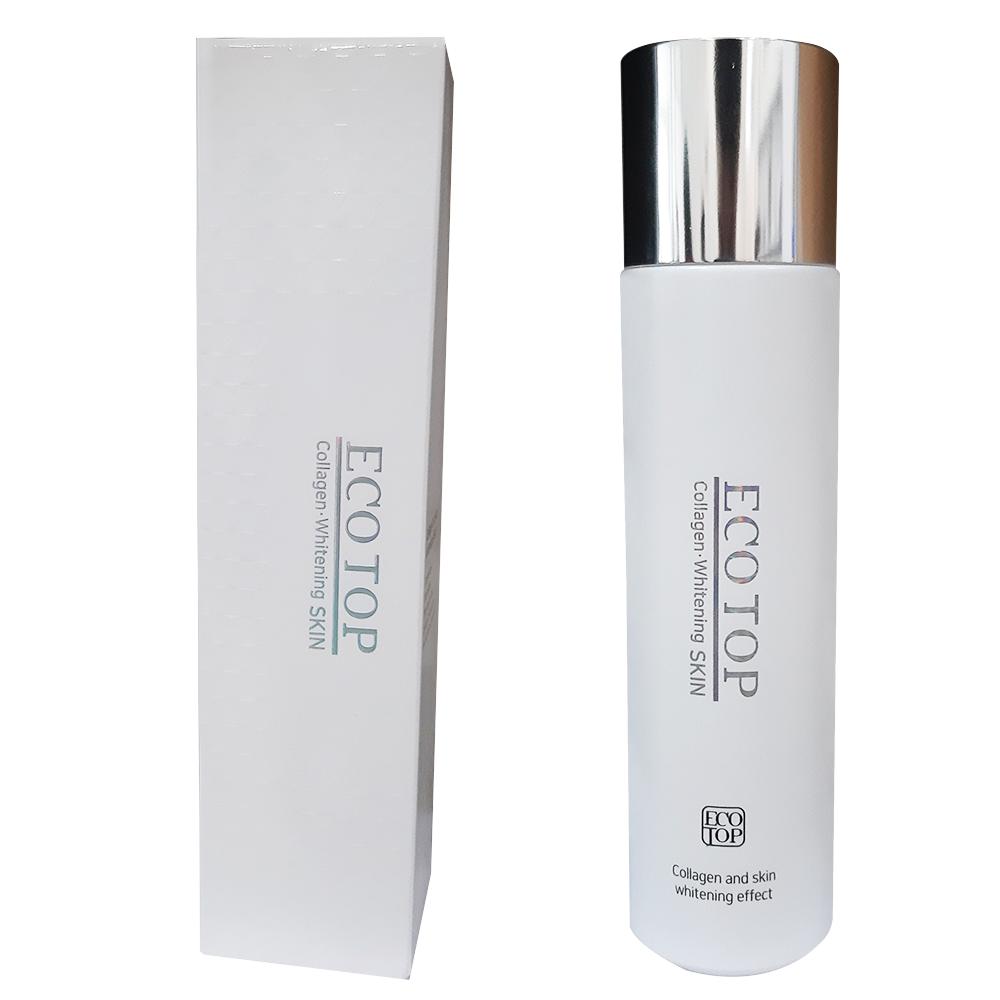 Nước Hoa Hồng ECOTOP Collagen Whitening Skin 150ml KOREA [ Tặng Mặt Nạ 3W Clinic ]