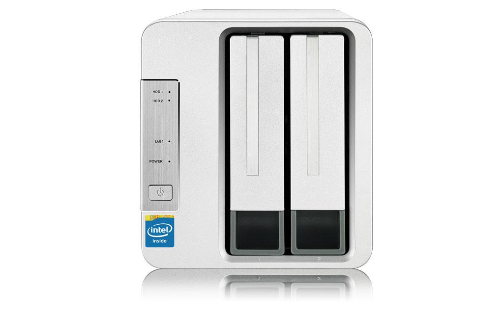 NAS TerraMaster F2-221, Intel Dual-core 2.0GHz, 2GB RAM - Hàng chính hãng