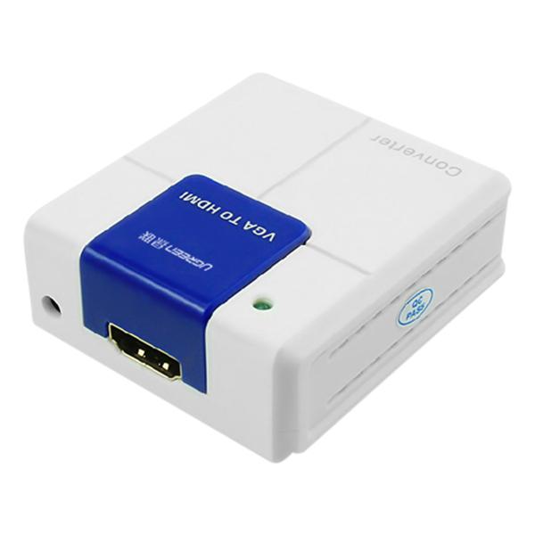 Bộ Chuyển Đổi Ugreen VGA Audio Sang HDMI Có Nguồn Phụ 40224 - Hàng Chính Hãng