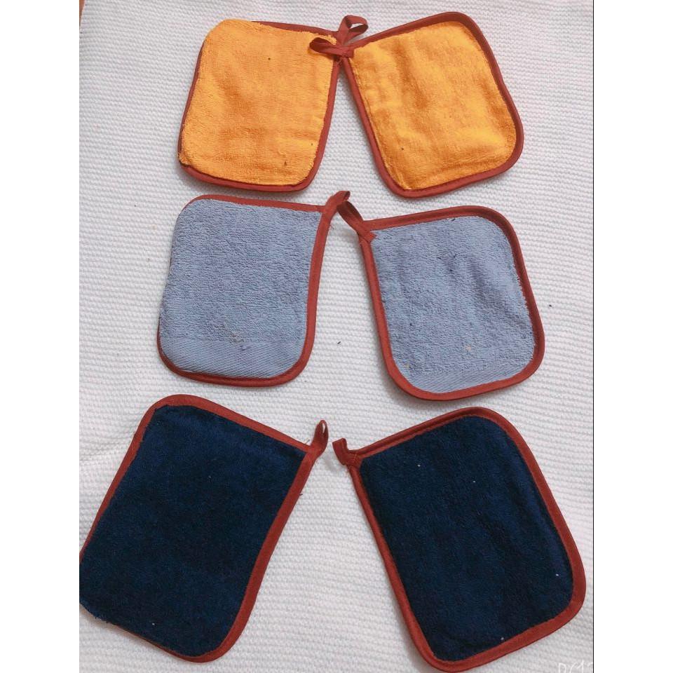 Combo 3 bộ miếng nhắc nồi (6 miếng) hàng Việt Nam 100% coton