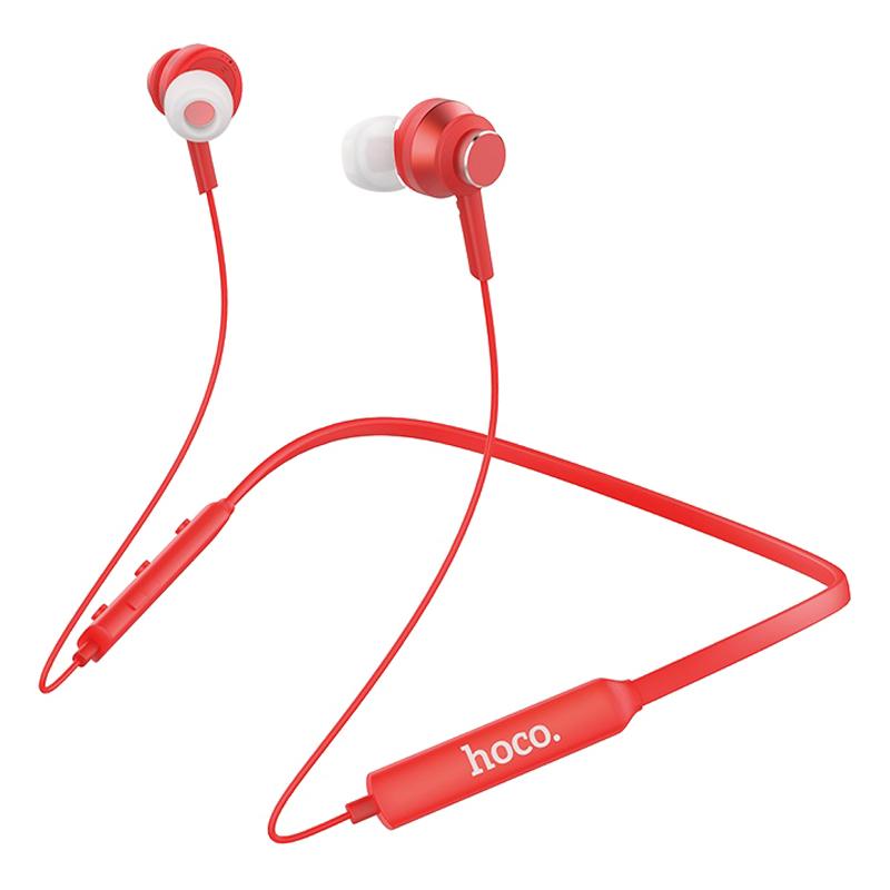 Tai Nghe Bluetooth Hoco ES18 Đỏ - Hàng Chính Hãng