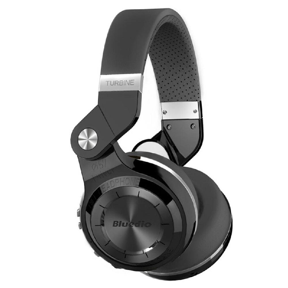 Tai Nghe Chụp Tai Bluetooth Bluedio T2+ (Đen) - Hàng Chính Hãng