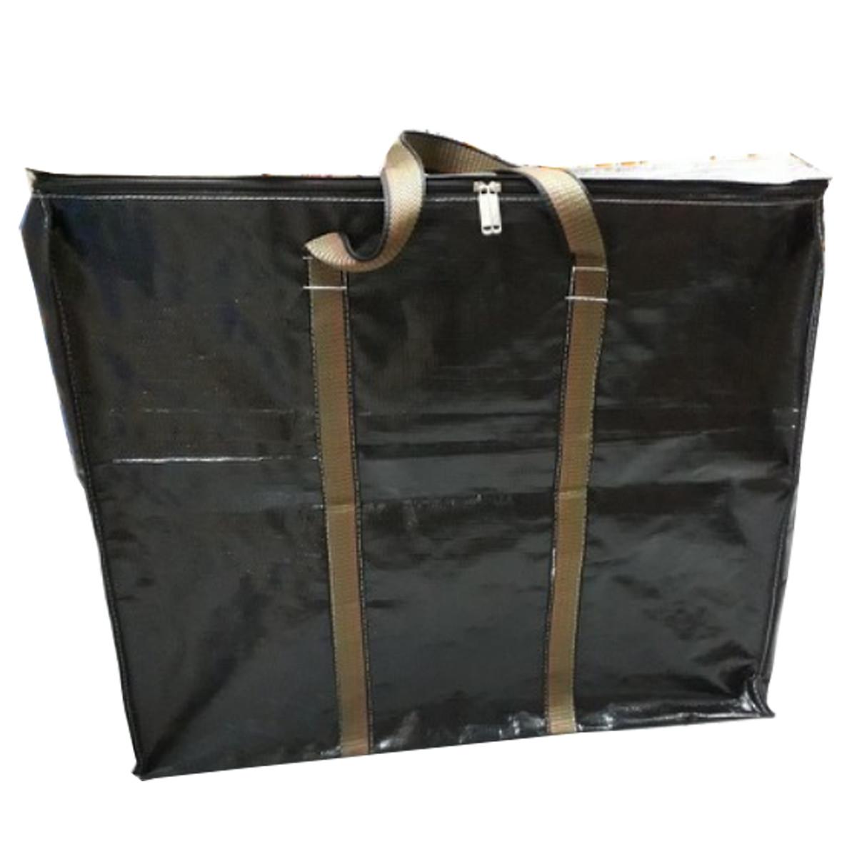 Túi bạt loại dày nhất màu tím/xanh rêu (Dành có shipper, đựng hàng buôn bán) - quai xách màu ngẫu nhiên