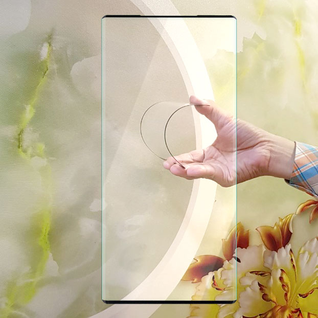 Miếng kính cường lực cho Samsung Galaxy Note 20 Ultra 5G Full màn hình - Đen