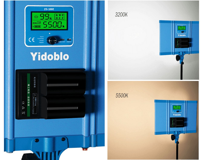 Đèn led Studio ZD-100E 96w Yidoblo
