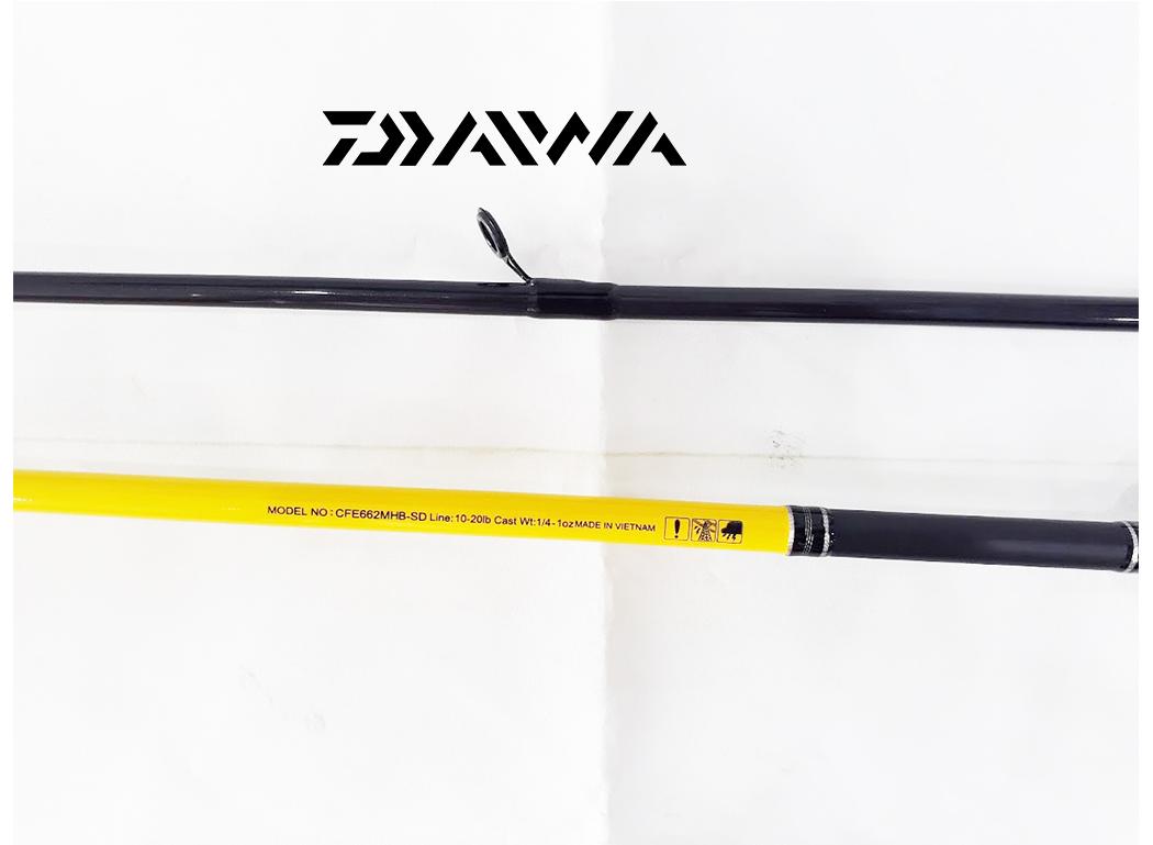 Cần Máy Ngang Daiwa Crossfire 662MHB