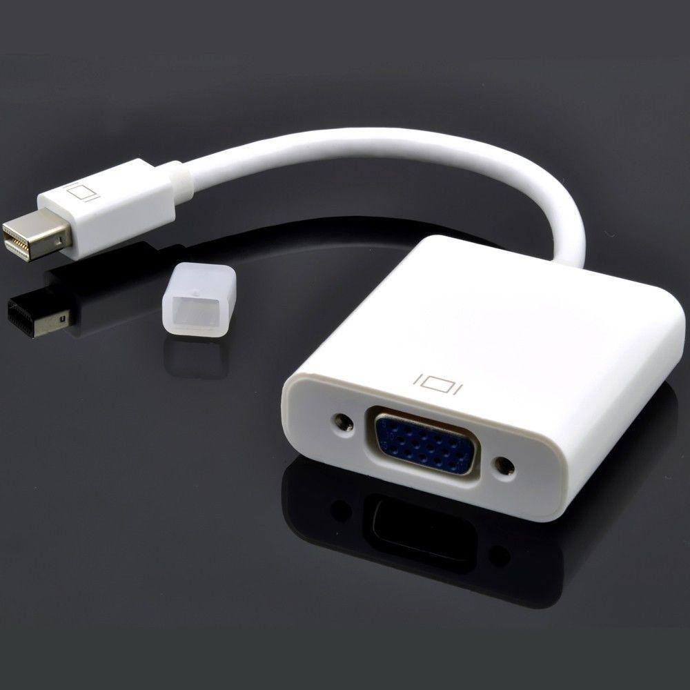 Cáp chuyển Thunderbolt ra VGA kèm âm thanh cho Macbook