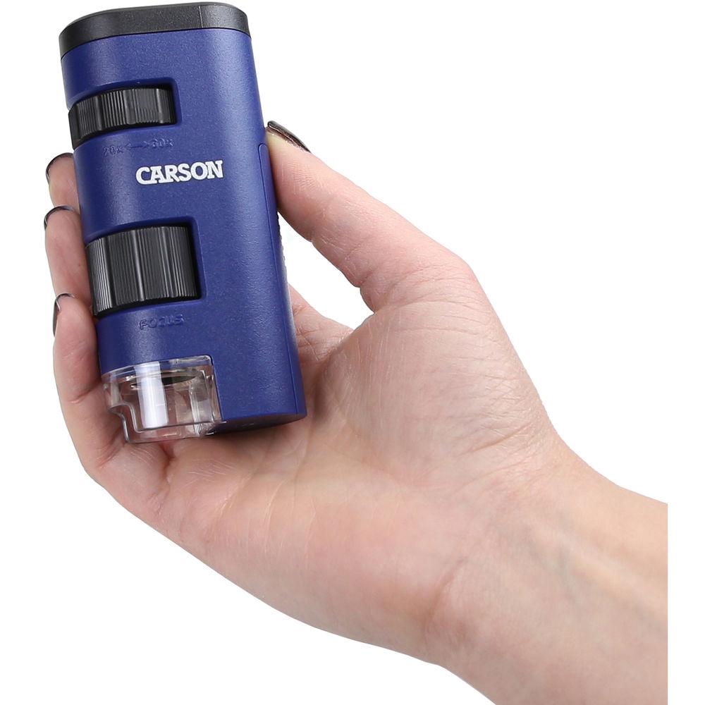 Kính hiển vi bỏ túi Carson PocketMicro MM-450 (20x-60x) - Hàng chính hãng