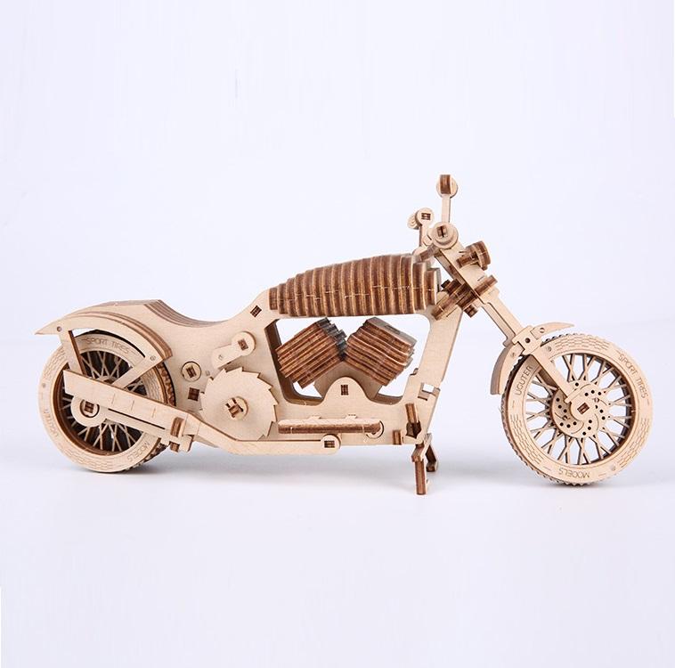 Mô hình Chuyển động Xe máy Harley Uguter