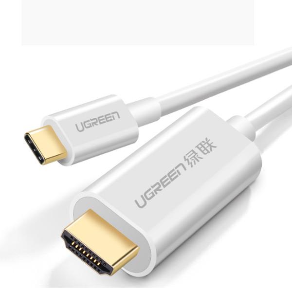 Cáp Chuyển Đổi USB Type-C Sang HDMI 1.5M UGREEN Hỗ Trợ 4K, 3D - Hàng Chính Hãng