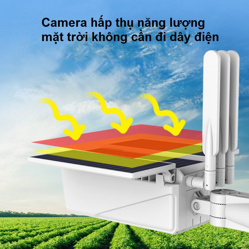 Camera Wifi Năng Lượng Mặt Trời SHP-CI11