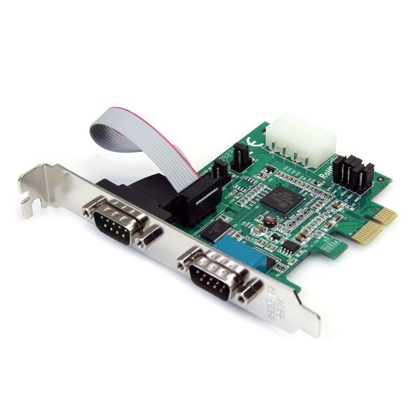 Card PCI Express ra 2 cổng COM RS232