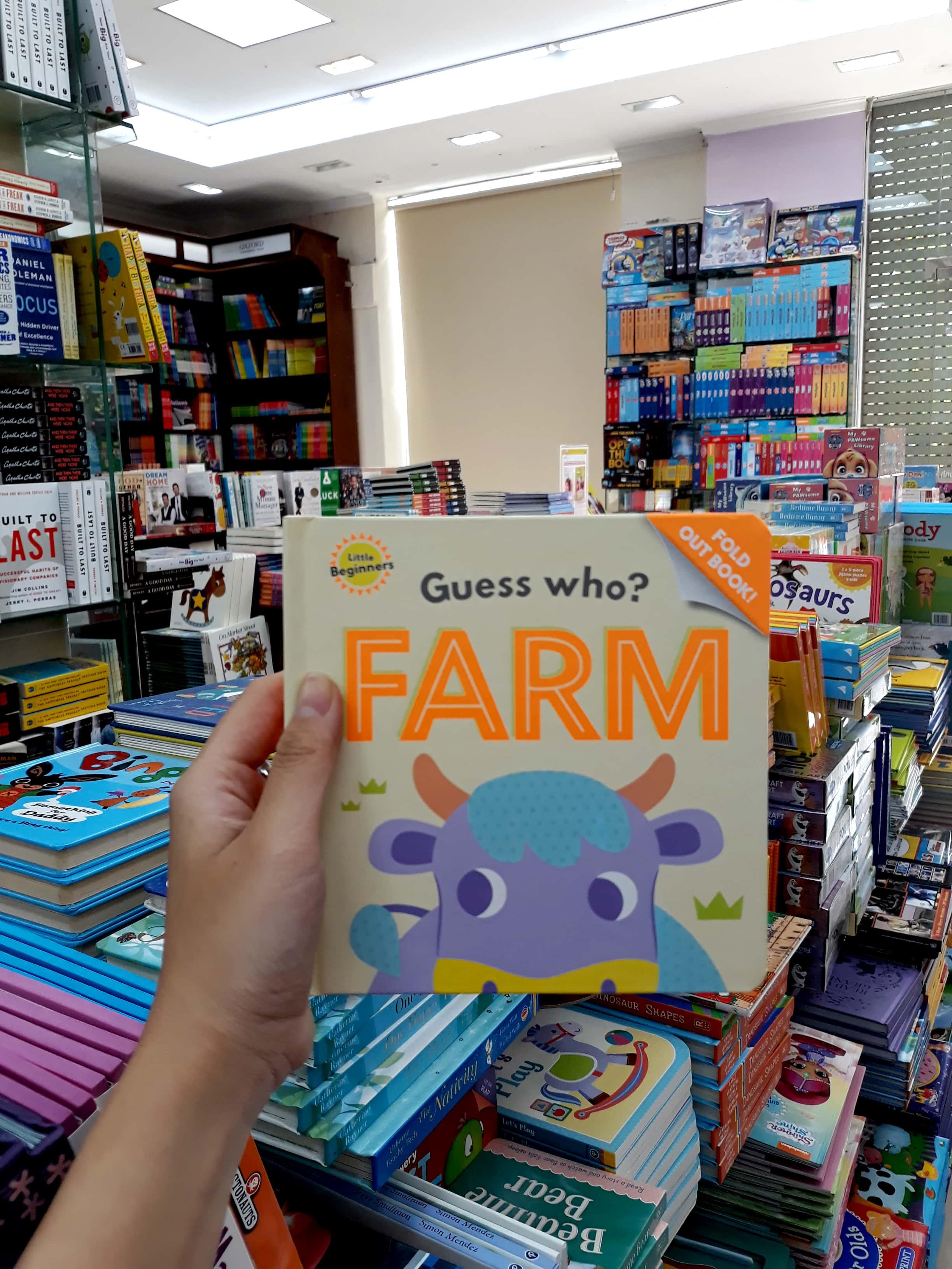 Little Beginners Fold Out Farm