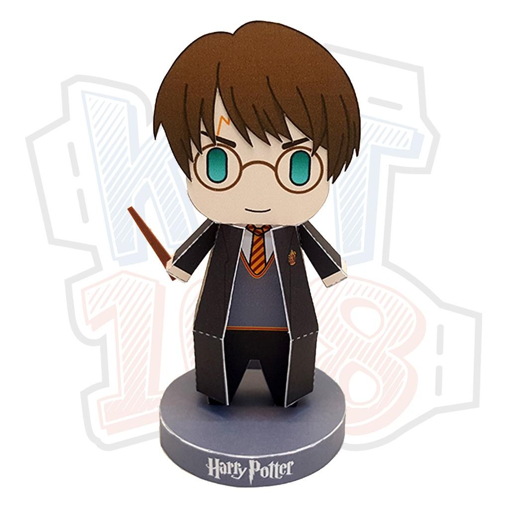 Mô hình giấy Anime Chibi Harry Potter