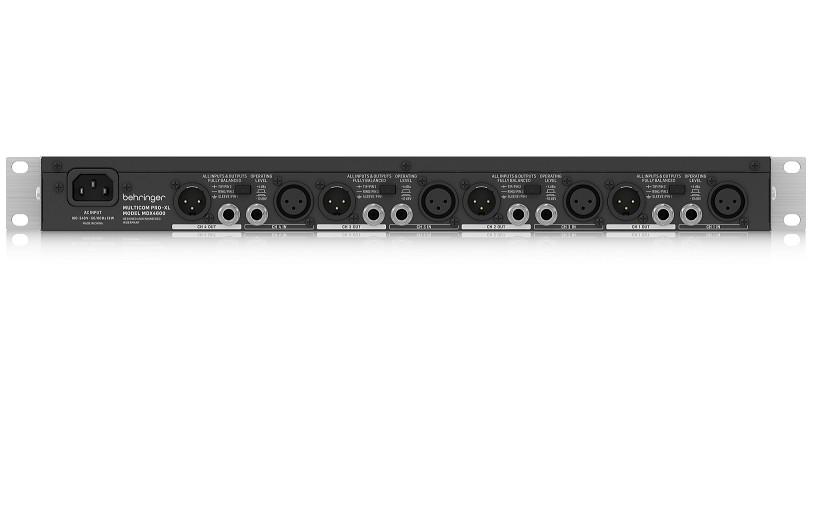 Bộ Xử Lý Compressors Behringer MDX4600-Class 4-Channel-Hàng Chính Hãng