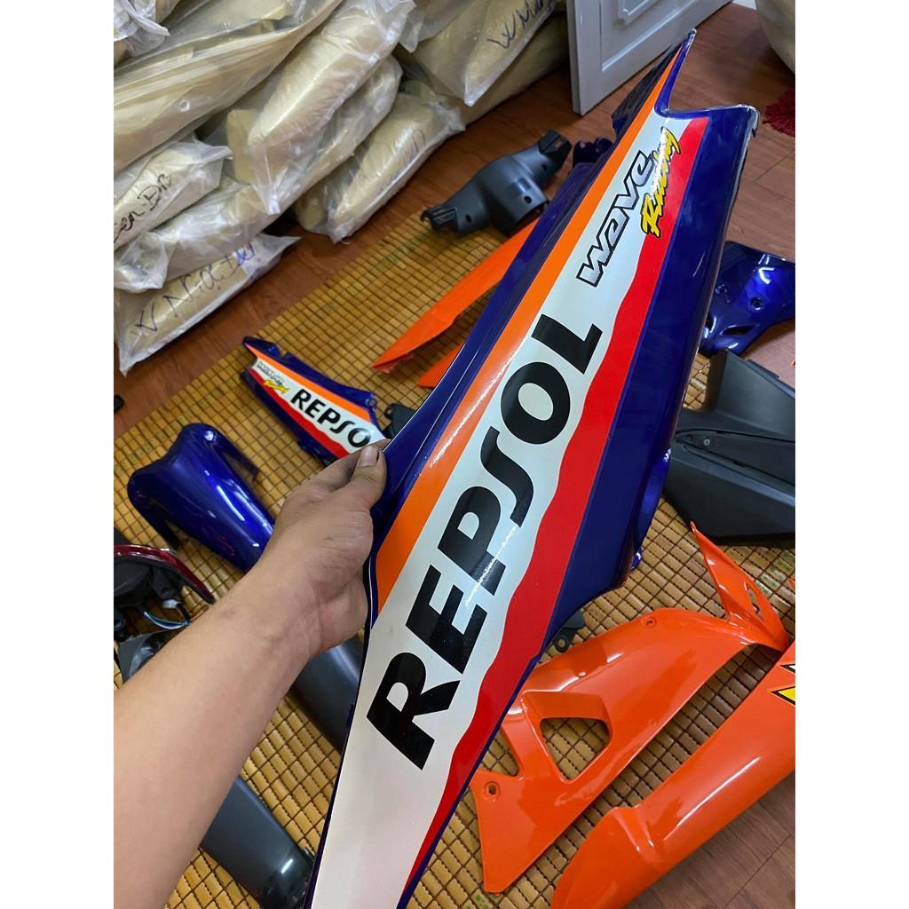 Dàn áo dành cho Honda Wave A/Rs/S 100 loại 1 màu Repsol